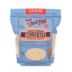 Bob's Red Mill, Quick Cooking Rolled Oats, Gluten Free, 28 oz