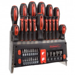 39 Piece Screwdriver and Bit Set with Magnetic Tips- Precision Kit By Stalwart